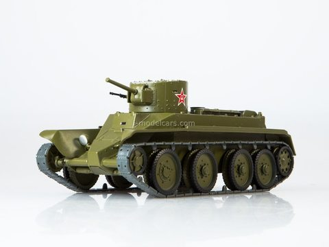 Tank BT-2 Our Tanks #25 MODIMIO Collections 1:43