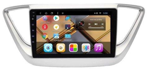Головное устройство Hyundai Solaris 2017+ Android 9.0 2/32 IPS модель CB 3074T8