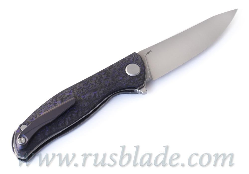 Shirogorov F3 NS M390 Purple Carbon Fiber - фотография