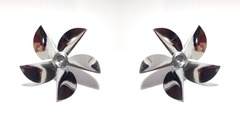 6516/5 Titanium Series 5D propeller L+R