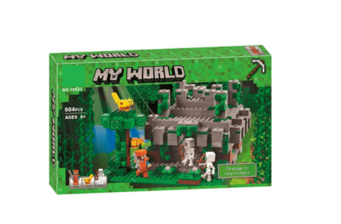 Конструктор My World 10623 Храм в джунглях