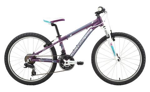 Silverback Senza 24 (2015)фиолетовый с белым