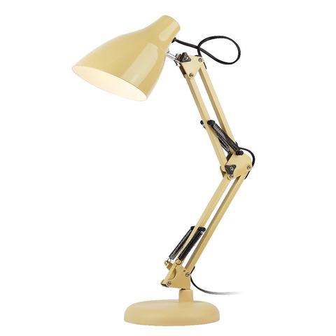 Настольная лампа ЭРА N-123-E27-40W-BG бежевый