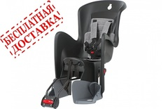 Велокресло Polisport Bilby RS Black/Dark Grey