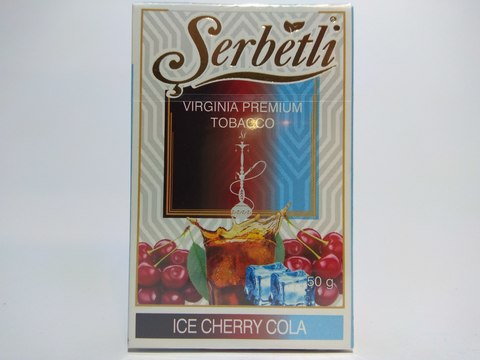 Табак для кальяна SERBETLI Ice Cherry Cola 50gr