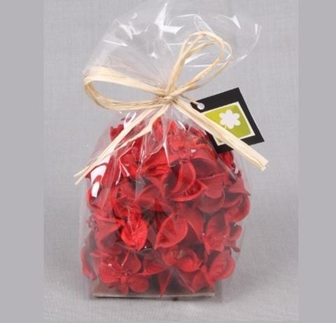 Набор сухоцветов 60гр, цвет: красный