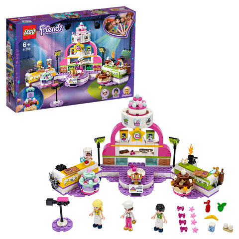LEGO Friends 41393 Конструктор ЛЕГО Подружки Соревнование кондитеров