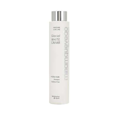 Увлажняющий шампунь с маслом прозрачно-белой икры / Miriamquevedo Glacial White Caviar Hydra-Pure Shampoo