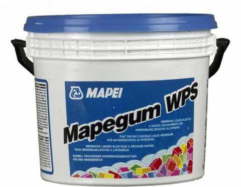 Mapegum WPS готовая гидроизоляция для ванной Mapei, 5 кг.