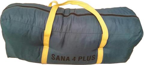 Палатка Canadian Camper SANA 4 PLUS, цвет forest, сумка.