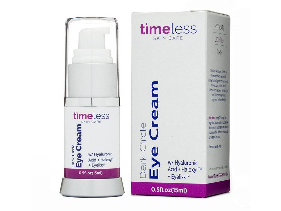 Timeless Skin Care Dark circle eye cream