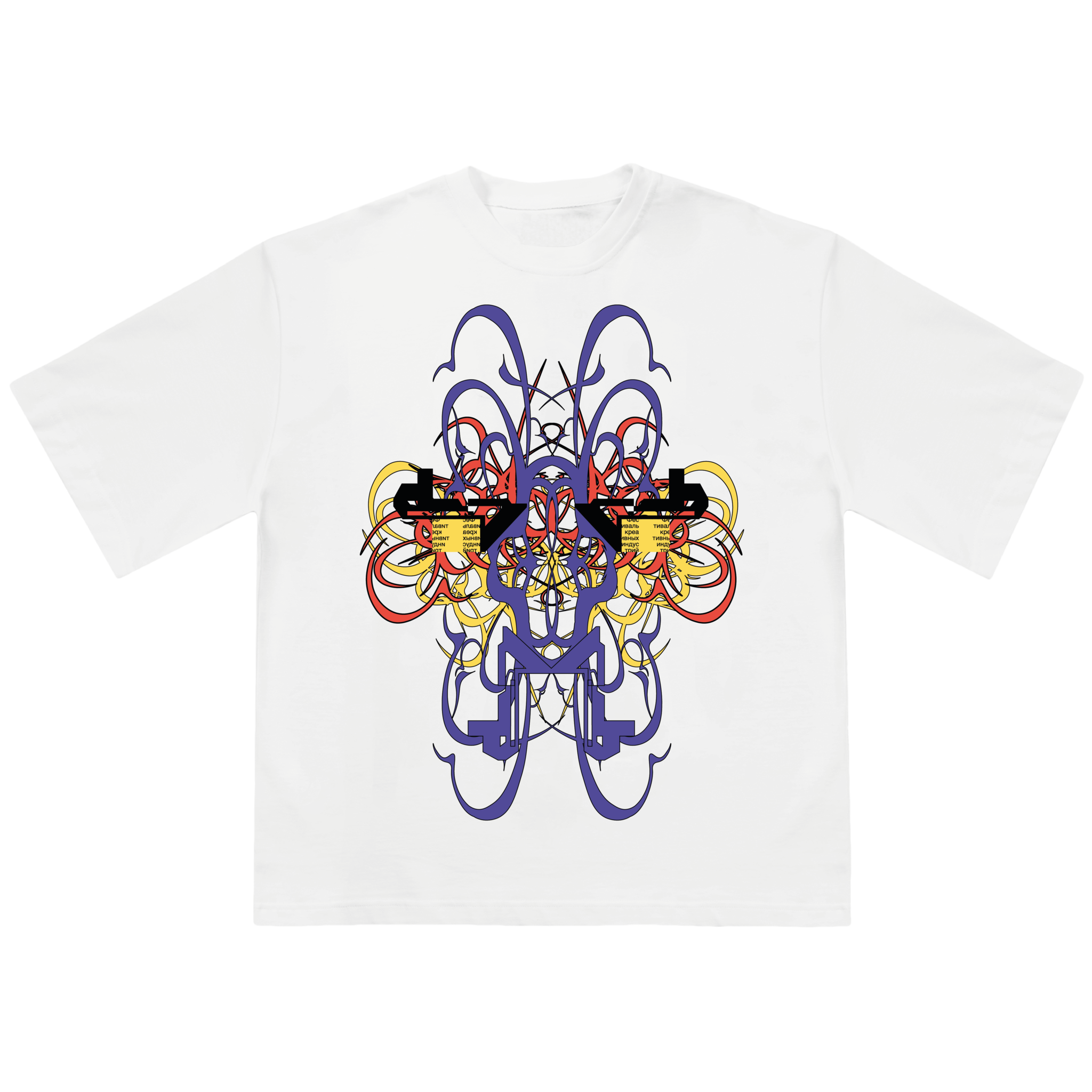 smart oversize футболка G8 & Щёлочь ALIEN