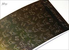 Металлизированные наклейки Arti nails Stiker цвет золото №21
