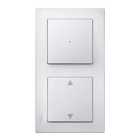 Рамка на 2 поста. Цвет Полярный белый. Merten. M-Smart System M. MTN478219