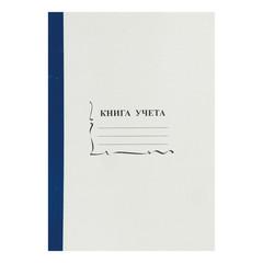 Книга учета бухгалтерская офсет А4 96 листов пустографка на скрепке (обложка - картон)