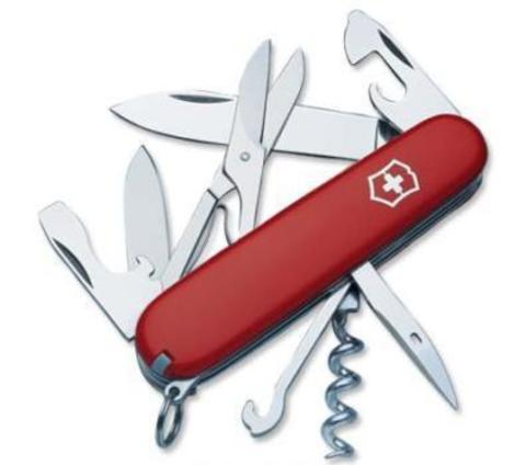 Нож Victorinox Climber, 91 мм, 14 функций, красный123