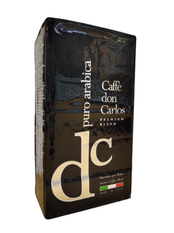 Carraro  Don Carlos PURO Arabica 100% 250г. Кофе молотый
