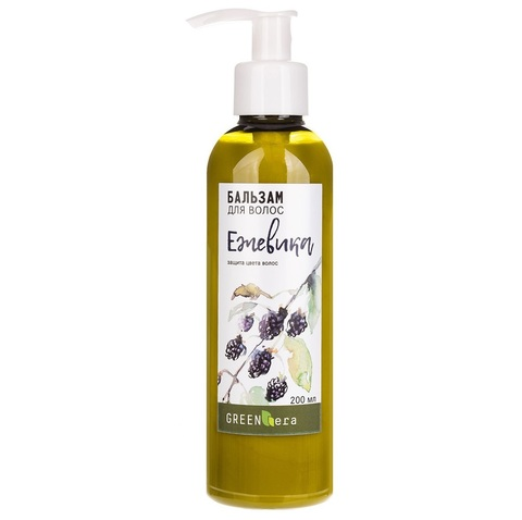 Бальзам для волос Ежевика для окрашенных волос | Green Era