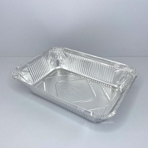 Контейнер прямоугольный из пищевой алюминиевой фольги SP64L