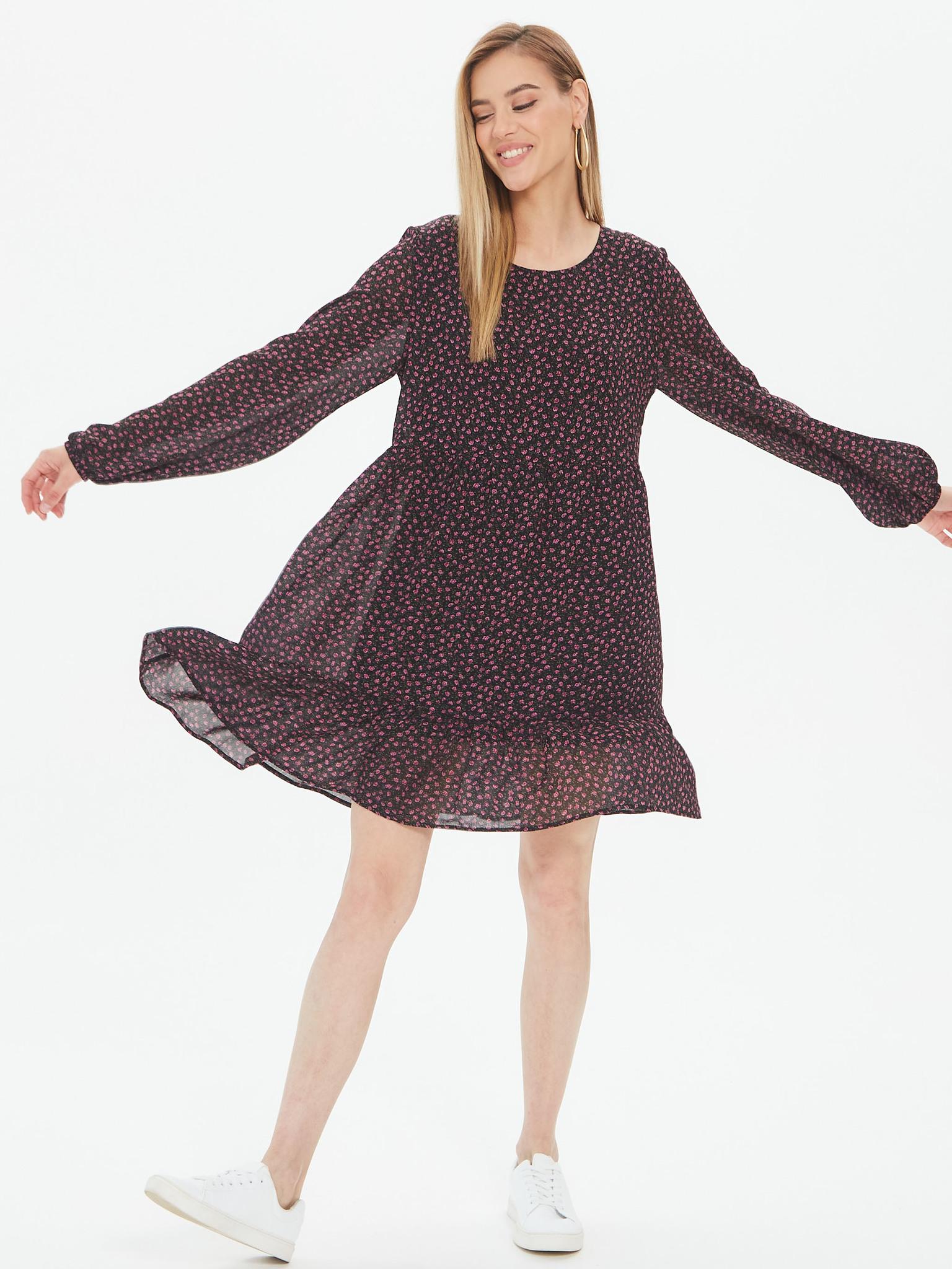 Платье из шифона Babydoll