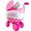 Детская коляска для девочки 107 см