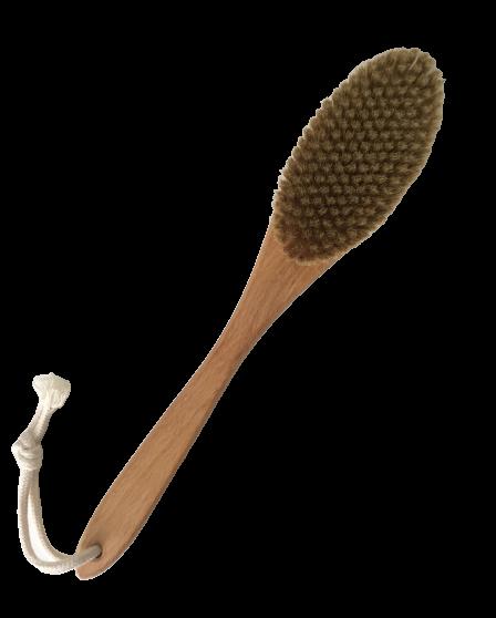 Щетка для сухого массажа (с ручкой)