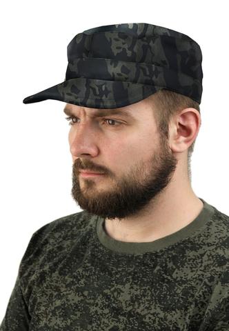 Купить камуфляжную кепку Черную - Магазин тельняшек.ру 8-800-700-93-18Кепка Черный камуфляж в Магазине тельняшек