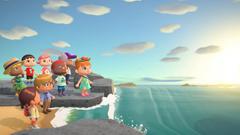 Игровая консоль Nintendo Switch Limited Edition (Издание Animal Crossing New Horizon комплект)