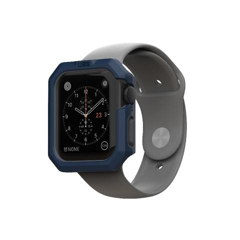 Чехол UAG Civilian Watch Case для Apple Watch 44/42 синий/серый (Mallard/Gunmetal)