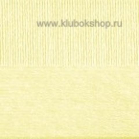 Пряжа Вискоза натуральная Пехорский текстиль Светло-желтый 53