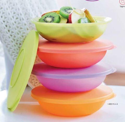 Тарелочки очарование разноцветные