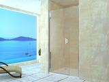 Душевая дверь RGW LE-08 (LE-03+Z-09) 130х195 06120813-11 прозрачное