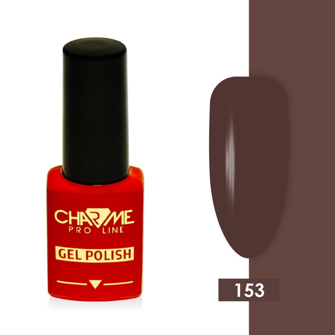 Гель-лак 153 - горький шоколад Charme 10 мл