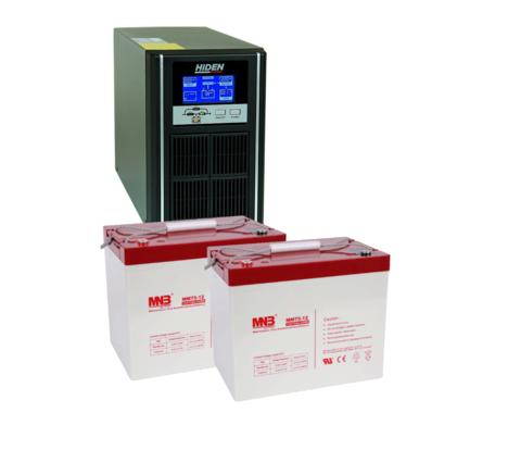 Комплект ИБП UDC9201H-АКБ MM75 (24в, 800Вт)