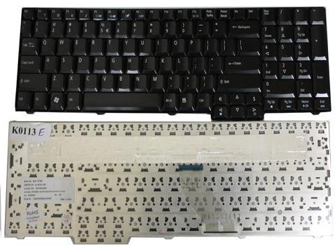 Клавиатура для ноутбука Acer Aspire 5335 5735 6530G 6930G 7100 8920G 8930G 9300 9400 TravelMate 5110 5620 7510 7720 Extensa 5635 7220 7230 7620 E528