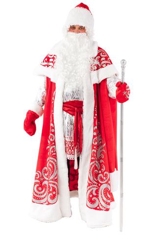 Костюм Дед Мороз Царский в рубахе