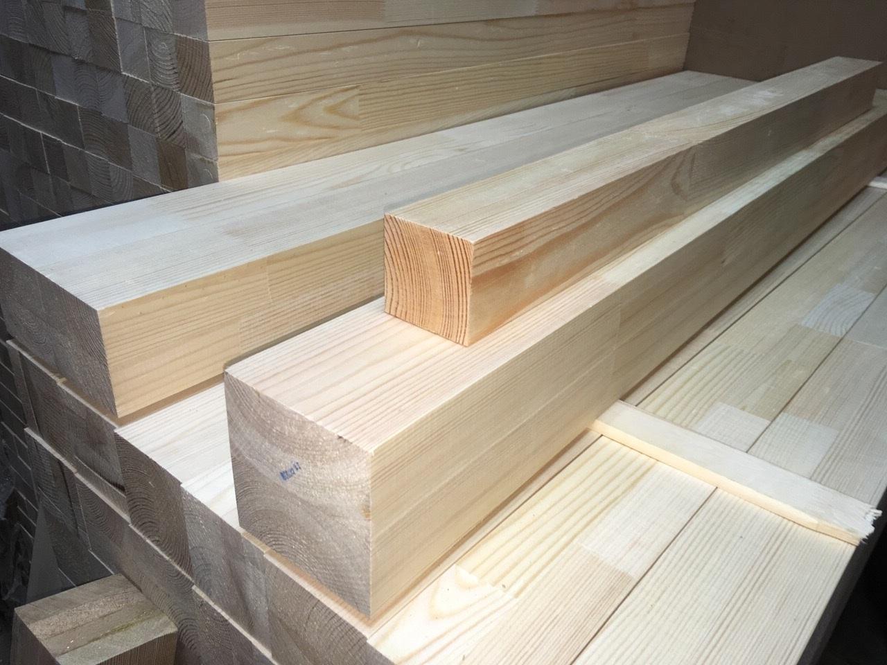 Мебельный брус - сосна сращенная 50 мм х 50 мм х 900 мм