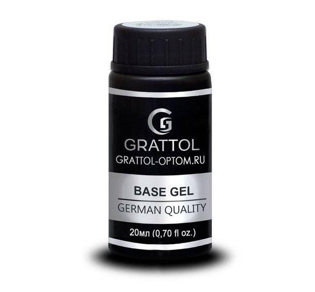 База GRATTOL Rubber Base Gel Royal 20мл