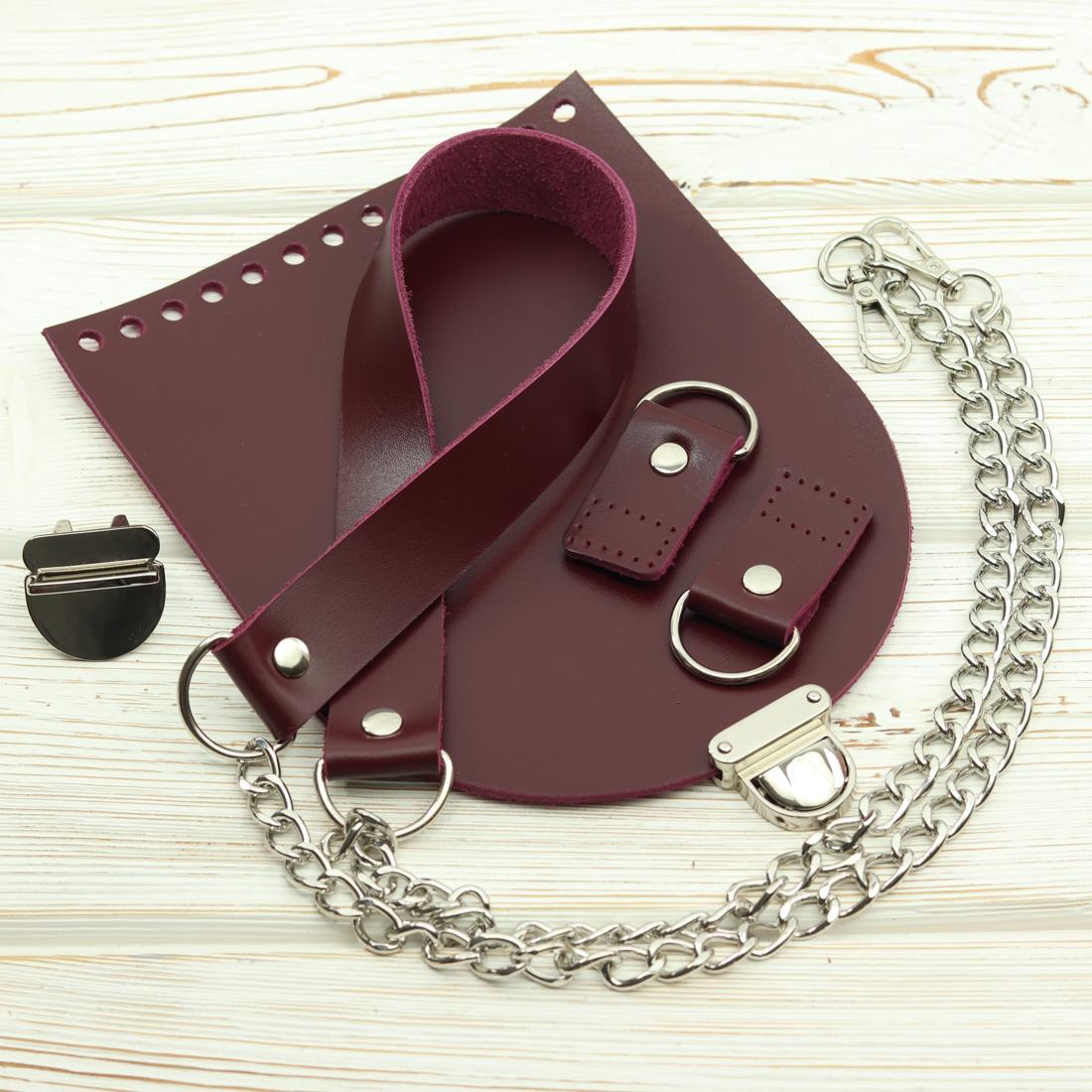 """Каталог Комплект для сумочки """"Вино"""" №1 с замочком IMG_6163.jpg"""