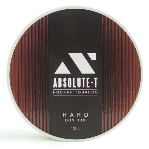Табак Absolute-T Hard Don Rum (Ром) 100 г
