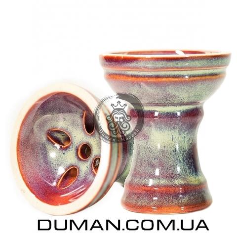 Чаша Gusto Bowls Turkish v2.0 Glaze II (Густо Болс Турка) Бирюзовый с красным