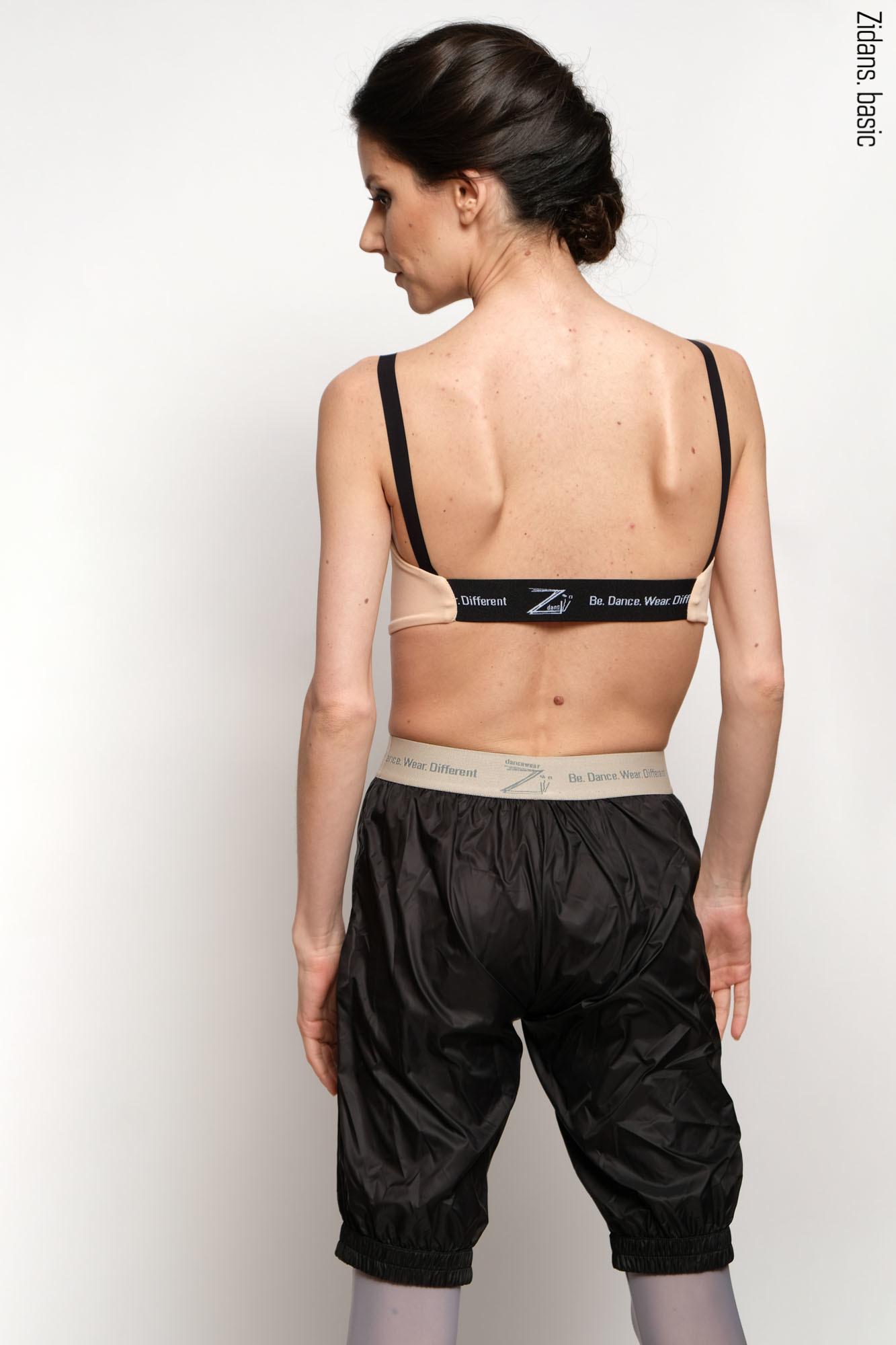 Удлиненные шорты-сауна | черный