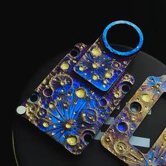 Starry Night Titanium Inner Plate by YEC Studio
