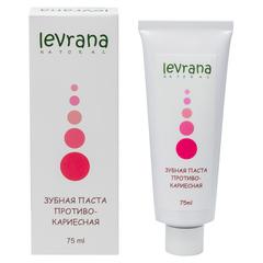 Зубная паста Противокариесная, 75ml TМ Levrana