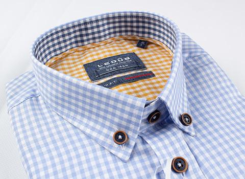 Рубашка Ledub slim fit 0137318-130-180-390