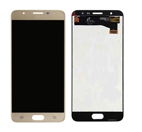 LCD SAMSUNG J7 Prime G610 + Touch Gold Orig MOQ:5