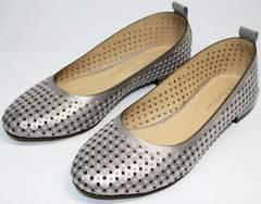 Летние туфли на низком каблуке Kluchini 5219 k 365Titan.