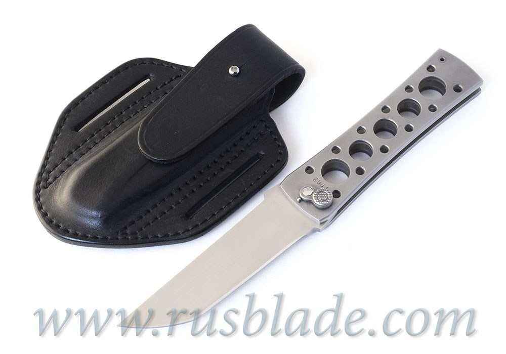 Custom Urakov Brut Silver knife 440C Tanto - фотография