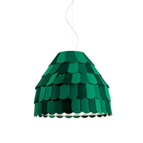 Подвесной светильник копия Roofer F12 A01 by Benjamin Hubert (зеленый)