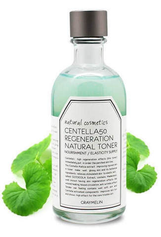 Восстанавливающий тонер с центеллой азиатской Graymelin Centella 50 Regeneration Natural Toner